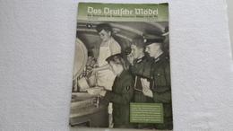Raree Zeitschrift Das Deutsche Mädel In Der HJ Februarheft 1942 Bund Deutscher Mädels BDM JM - German