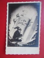 Latvia / Lettland Gnome  Christmas  / Weihnachten / Noël  Postcard 1930s - Letonia
