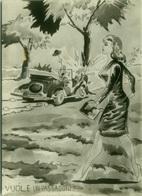 1950s HUMOR  PIN UP - CRASH ACCIDENT - EDIZ. BROMOSTAMPA (1430) - Humour