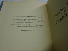 FRONTIERES DE LA POESIE Par Jacques MARITAIN (TIRAGE DE TETE, EXEMPLAIRE N° IV) LE ROSEAU D'OR  Oeuvres Et Chroniques 14 - Autres