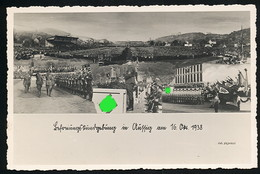 AK/CP Propaganda  Aussig   Usti Nad Labem  Sudeten      Nazi      Ungel/uncirc.1938   Erhaltung/Cond. 2   Nr. 01074 - Guerra 1939-45