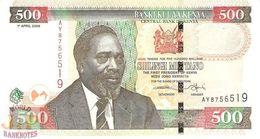 KENYA 500 SHILLINGS 2006 PICK 50c UNC - Kenia