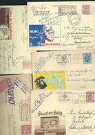 Publibel Entre 1946 Et 1971,  200 Cartes Publicitaires Oblitéres, Thématiques  3105202032 - Enteros Postales