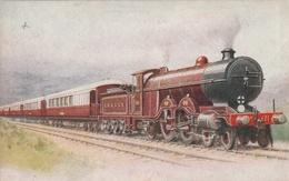 Locomotive L.B.I.S.C.R. Et Train - Trains