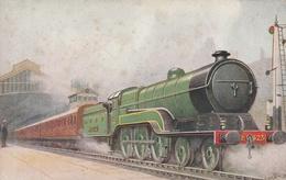 Locomotive . L.V.E.R. N° 423. Et Train - Trains