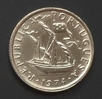$G20-5 Escudos Coin - Portugal - 1974 - Portugal
