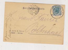 SLOVENIA,Austria 1905 PETTAU PTUJ JURZA & SOHNE Firm Postcard - Slovenia