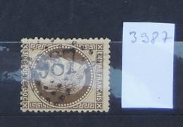 05 - 20 // France N° 30  - Oblitération GC 3987 - Tourcoing - Nord - 1863-1870 Napoléon III Lauré