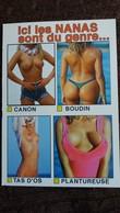 CPM PIN UP  FEMMES SEINS NUS NANAS DU GENRE CANON BOUDIN TAS D OS PLANTUREUSE ED ESTEL - Pin-Ups