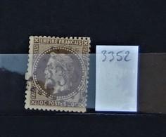 05 - 20 // France N° 30  - Oblitération GC 3352 - Sedan - Ardennes - 1863-1870 Napoléon III Lauré