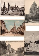 LOT 500 CPA ET CPSM (petit Format) DEPT SEINE ET MARNE (77). AUCUNE CARTE DE FONTAINEBLEAU. DROUILLE.  . - 500 Postkaarten Min.