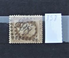 05 - 20 // France N° 30  - Oblitération GC 898 - Charleville - Ardennes - 1863-1870 Napoléon III Lauré
