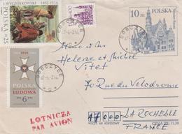 LETTRE OBLITERATION DOBCZYCE POLOGNE A DESTINATION DE LA FRANCE - 1919-1939 République