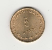 5 KYAT 1999 - Myanmar
