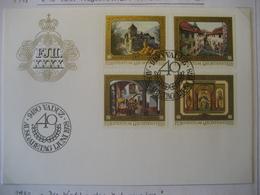 Liechtenstein- FDC Beleg Mit Satz Mi.Nr. 706-709 - Briefe U. Dokumente