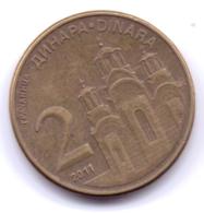 SERBIA 2011: 2 Dinara, KM 55 - Serbia