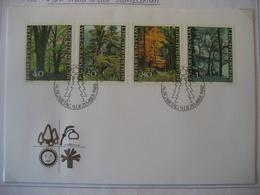 Liechtenstein- FDC Beleg Mit Satz Mi.Nr. 757-760 - Briefe U. Dokumente