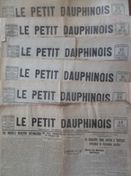 LOT De 6 PETIT DAUPHINOIS 1923-1925 - Rhône-Alpes