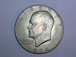 ESTADOS UNIDOS/USA 1 DOLAR 1974 D (5834) - Federal Issues