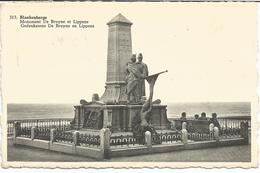 BLANKENBERGE - Monument De Bruyne Et Lippens - A Circulé - Blankenberge