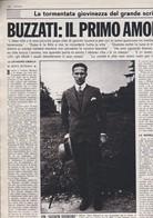 (pagine-pages)DINO BUZZATI    Gente1980/47. - Livres, BD, Revues