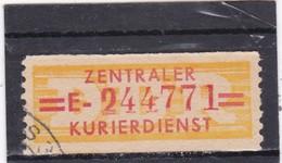 DDR, Dienst B: Wertstreifen Nr. 17 E, Gest. (T 16364) - [6] République Démocratique