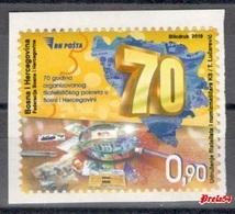 Bosnia Sarajevo - 70 Y. Of Organized Philatelic Movement In Bosnia & Herzegovina 2019 MNH - Bosnia And Herzegovina