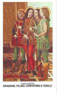 I Santi Martiri Graziano, Felino Carpoforo E Fedele - Sc1 - M13 - Imágenes Religiosas