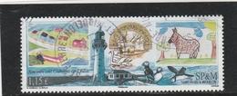 SPM 2012 YT 1051 RENCONTRE AVEC COULONGES SUR L AUTIZE OBLITERE A DATE - St.Pierre & Miquelon