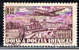 POLOGNE 417 //  YVERT 30 // 1952 - Airmail