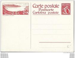 103 - 94 - Entier Postal Neuf Avec Illustration  Lac Leman Vue De Caux - Entiers Postaux