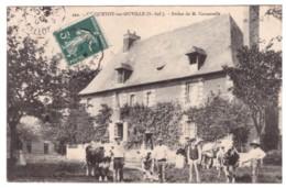 CRIQUETOT SUR OUVILLE - Ferme De M. CANNEVELLE  (carte Animée) - Autres Communes