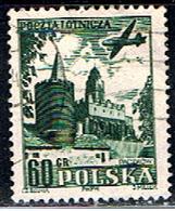 POLOGNE 419 // YVERT 34 // 1954 - Airmail