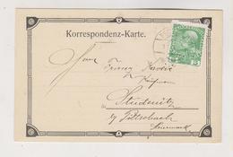 AUSTRIA 1909 CZECH REPUBLIC REICHSTADT ZAKUPY EDUARD HELD.  Firm  Postcard - 1850-1918 Impero