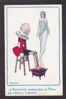 CPA Bertiglia Illustrateur Italien Non Circulé Satirique Russie Serbie Autriche Pinocchio - Bertiglia, A.