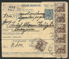 Poštanski Odpremni List. + Državna Pošta Hrvatska - Lettres & Documents