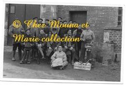 LAUNOIS NOVEMBRE 1939 - LE 219 E - CAISSE MUREAU FRERES - PHOTO 13.5*9 CM ARDENNES - Guerre, Militaire
