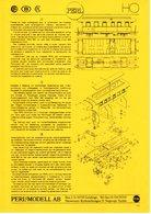 Catalogue PERL MODELL AB 1995 SNCF SNCB CFL  - En Allemand, Néerlandais Et Français - Nederlands