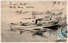 83 TOULON - Mourillon - Barques De Pecheurs - Toulon