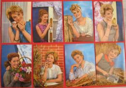 Lot De 8 CPSM - Portraits De Femmes - Série P.411 - Excellent état - Donne