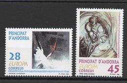 Andorre Espagnol - Andorra 1993 Y&T N°222 à 223 - Michel N°232 à 233 *** - EUROPA - Andorra Española
