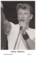 JOHNNY HALLYDAY - French Singer PHOTO POSTCARD - 1506/176 Swiftsure Postcard Edition Year 2000 - Artistes