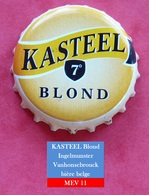 Kasteel Blond  (parfait état - Pas De Trace De Décapsuleur) MEV11 - Beer
