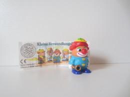 Kinder Surprise Deutch 1997 : N° 696633 + BPZ - Mountables