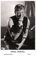 JOHNNY HALLYDAY - French Singer PHOTO POSTCARD - 1506/178 Swiftsure Postcard Edition Year 2000 - Artistes