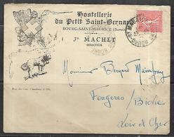 LF D58  Enveloppe De Bourg St Maurice De 1928 Timbre N°199 - Marcophilie (Lettres)