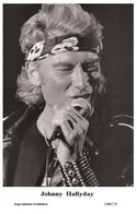JOHNNY HALLYDAY - French Singer PHOTO POSTCARD - 1506/179 Swiftsure Postcard Edition Year 2000 - Artistes
