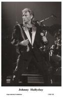 JOHNNY HALLYDAY - French Singer PHOTO POSTCARD - 1506/180 Swiftsure Postcard Edition Year 2000 - Artistes