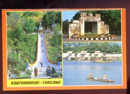 CPM Neuve Thailande KANCHANBURI Multi Vues ( Issue De Carnet ) - Thailand