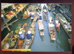 CPM Neuve Thailande DAMNOEN SADUAK Klong Po Hak ( Issue De Carnet ) - Thailand